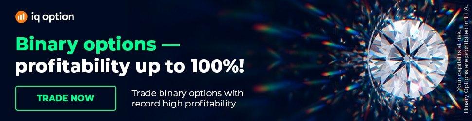 Binary Options up to 100% profit at IQ Option