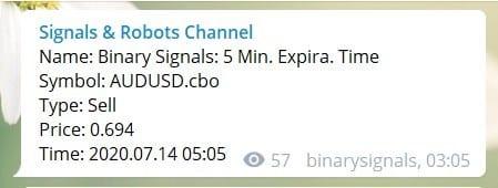 telegram signals example