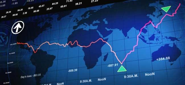 global map in a financial platform
