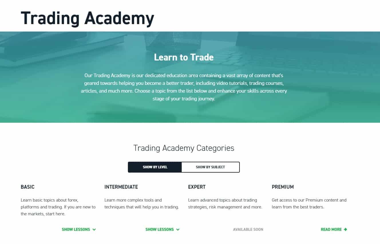 Trading academy
