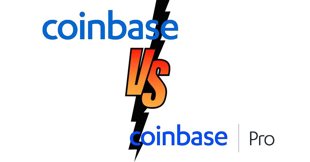 coinbase vs coinbasepro