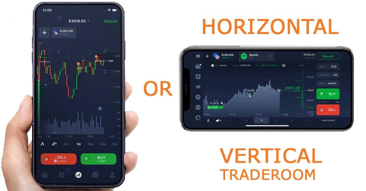horizontal or vertical