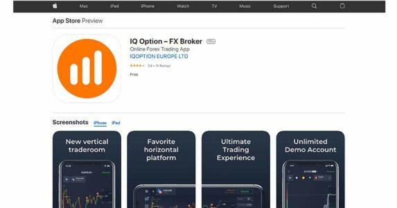 iq option app store